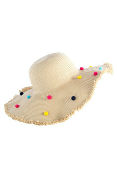 Shoptiques Product: Florence Straw Hat