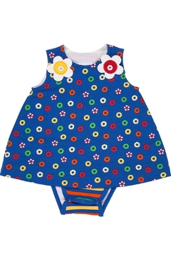 Florence Eiseman Button Flower Romper - Product List Image