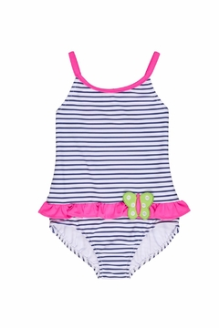Florence Eiseman Stripe Butterfly Swimsuit - Product List Image