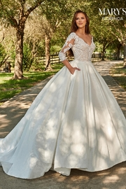 Mary's Bridal Florencia Bridal Gown in Ivory - Front cropped