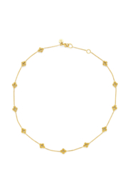 The Birds Nest Florentine Demi-Delicate Necklace Gold - Product Mini Image