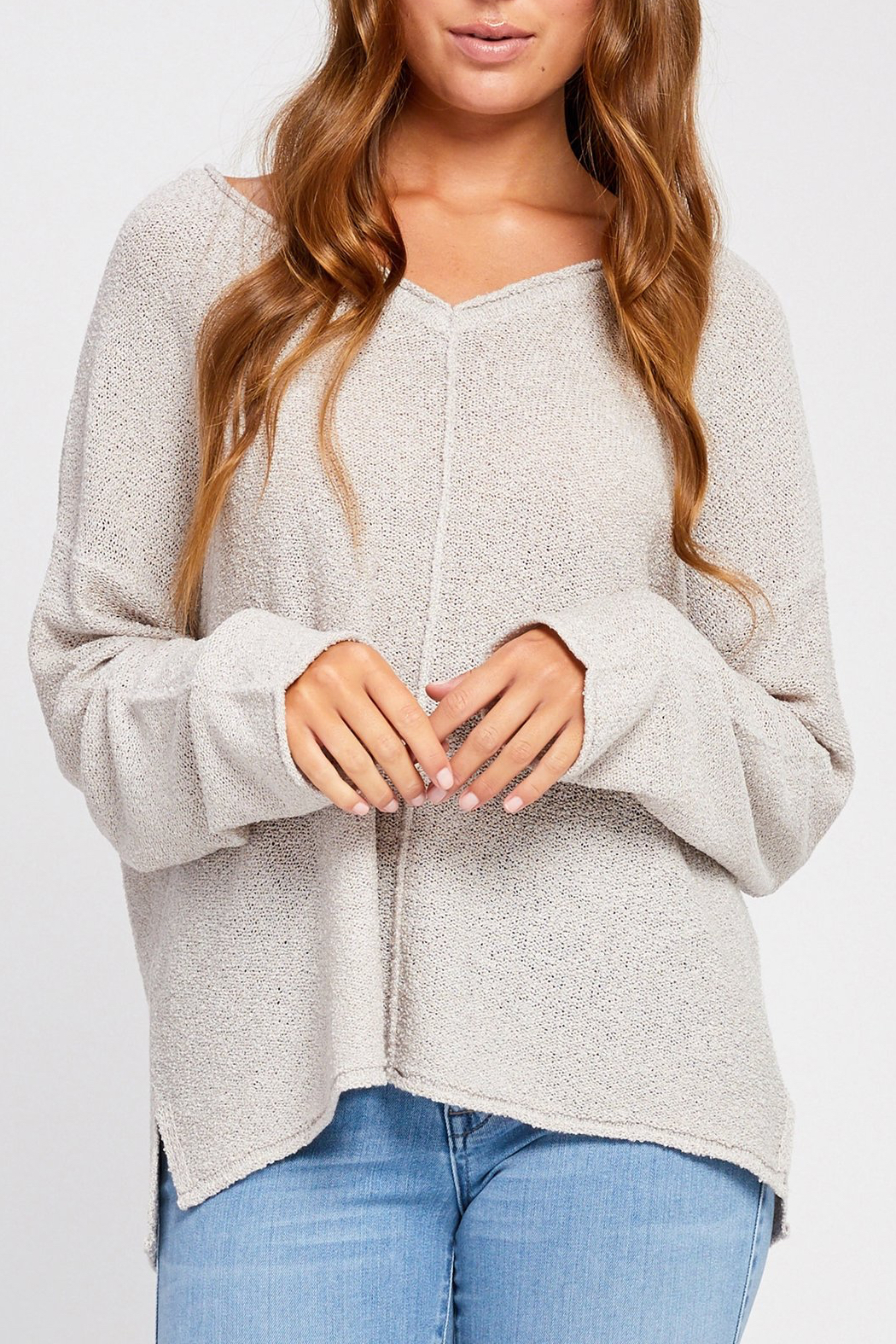 Gentle Fawn Florentine Loose Knit Sweater - Main Image