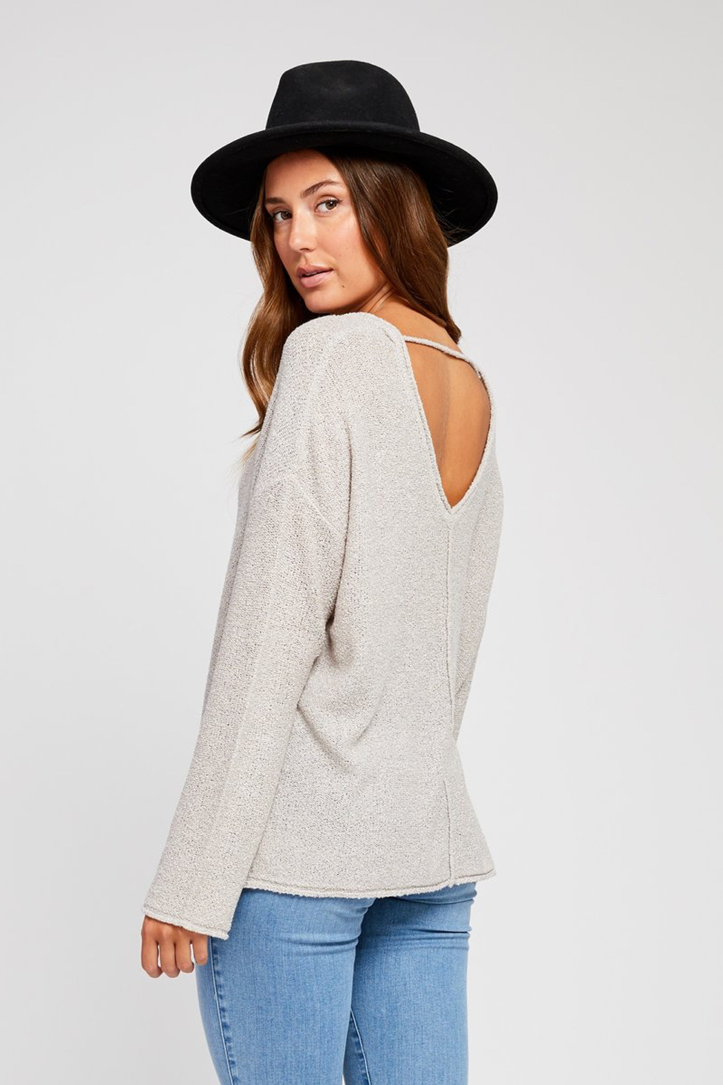 Gentle Fawn Florentine Loose Knit Sweater - Front Full Image