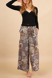 Umgee USA Florest Floral Pant - Product Mini Image