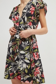 French Connection Floreta Wrap Dress - Front cropped