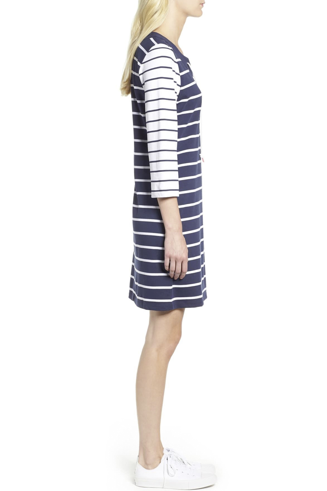 Tommy Bahama Floricita Lace-Up Shift Dress - Front Full Image