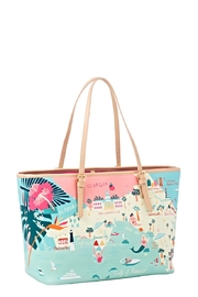 Spartina Florida Map Tote - Front full body