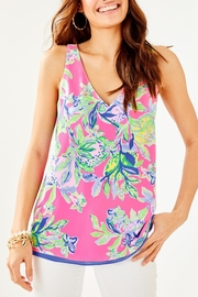 Lilly Pulitzer Florin V-Neck Top - Front cropped