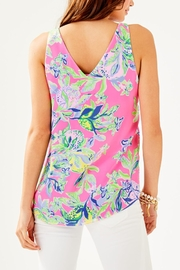 Lilly Pulitzer Florin V-Neck Top - Front full body