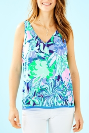 Lilly Pulitzer Florin V-Neck Top - Product Mini Image
