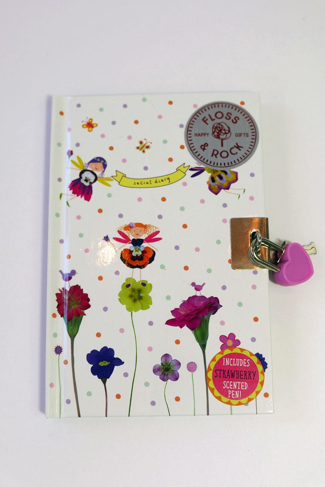 FLOSS & ROCK Fairy Diary With Sniffypen - Main Image