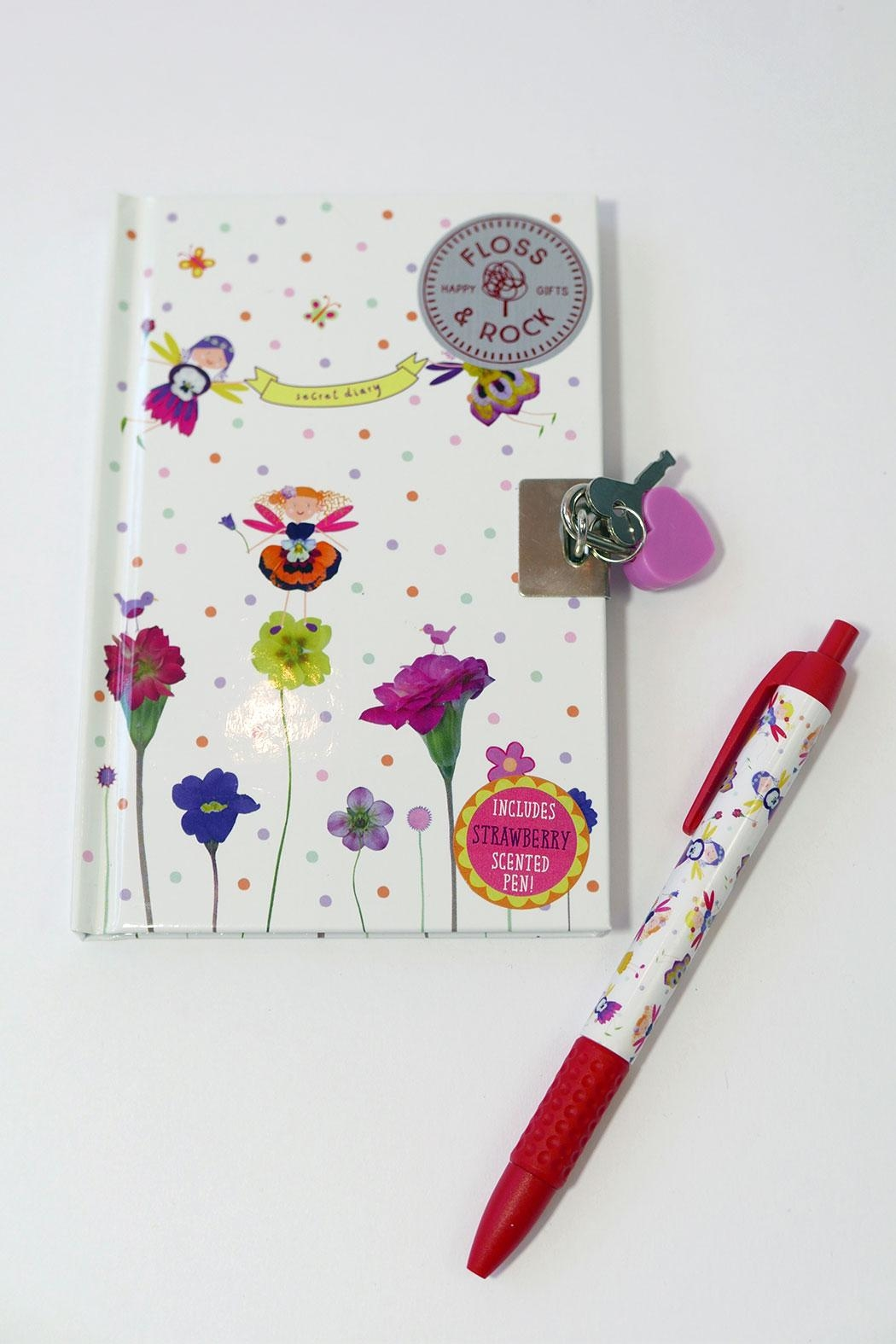 FLOSS & ROCK Fairy Diary With Sniffypen - Side Cropped Image