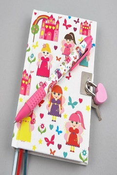 FLOSS & ROCK Fairy Scented Lockable Diary - Product List Image