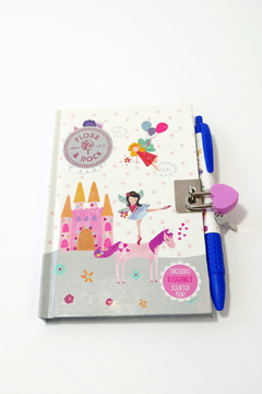 FLOSS & ROCK Unicorn Diary & Sniffypen - Product List Image