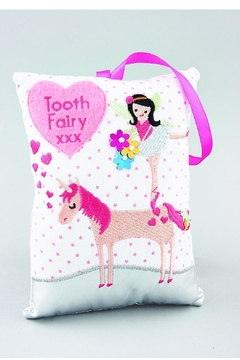 FLOSS & ROCK Unicorn Tooth Cushion - Alternate List Image