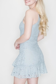 She + Sky Fit-And-Flare Lace Dress - Side cropped