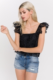 Endless Rose Flounce Lace Crop Top - Product Mini Image