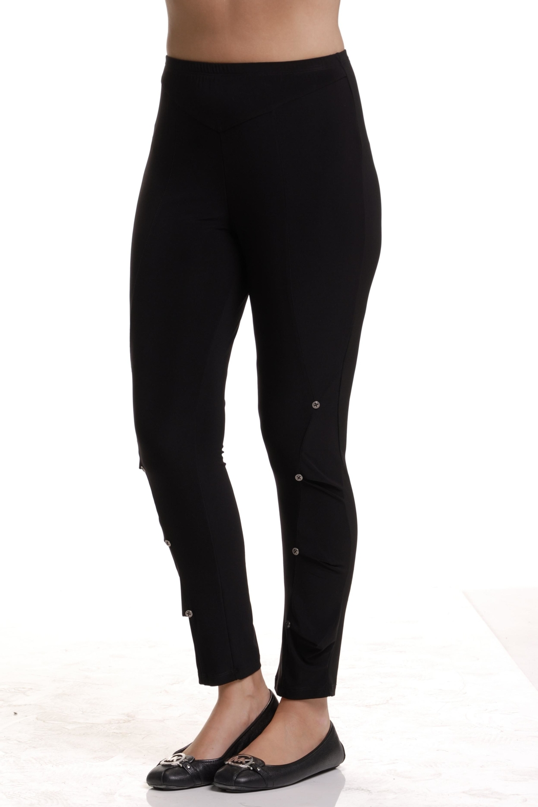 Bali Corp. Flounce Leggin - Front Cropped Image