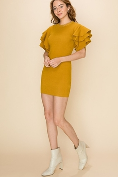 HYFVE Flounce Sleeve Dress - Alternate List Image
