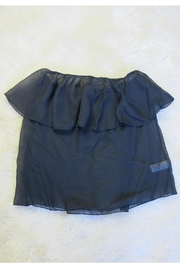 Minx Flounce Tube Top - Front cropped