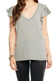 Chaser Flounce V Neck - Product Mini Image