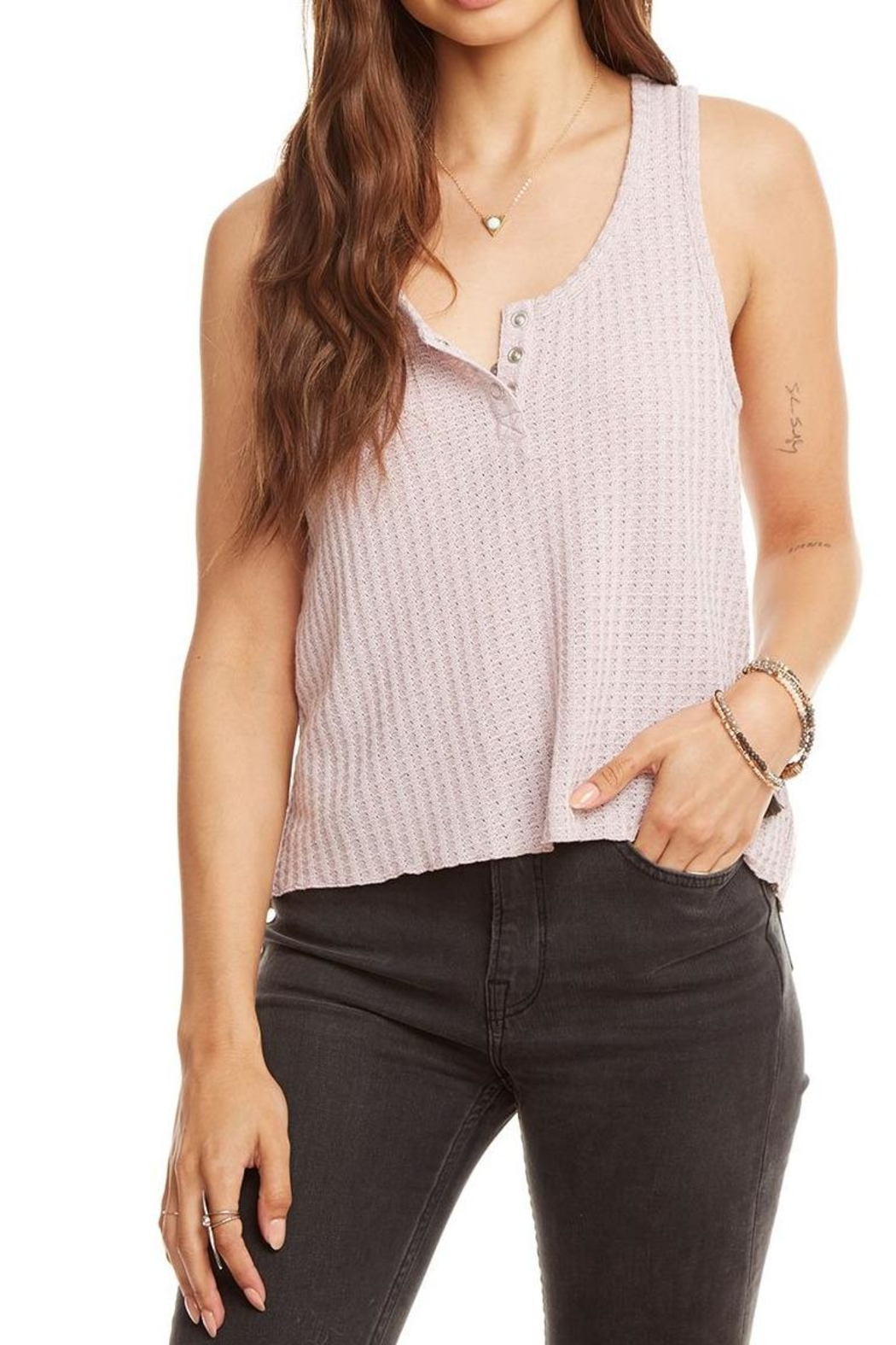 Chaser Flouncy Cropped Tank - Main Image