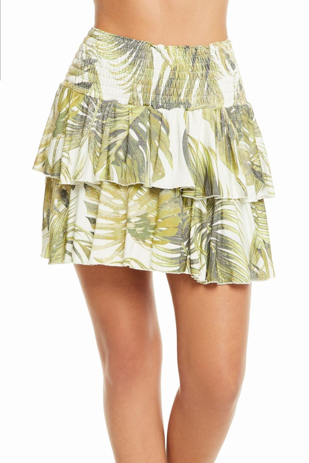 Chaser Flouncy Mini Skirt - Front Cropped Image