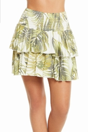 Chaser Flouncy Mini Skirt - Front cropped