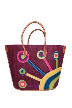 Purseonality Flower Beach Tote - Alternate List Image