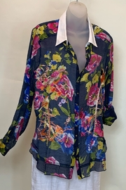 Aratta  FLOWER BLOUSE - Front cropped