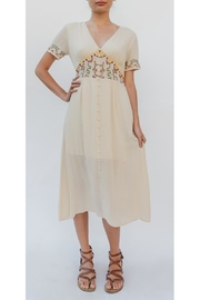 En Creme Flower Child Dress - Product Mini Image