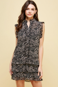 Shoptiques Product: Flower Child Ruffle Mini Dress