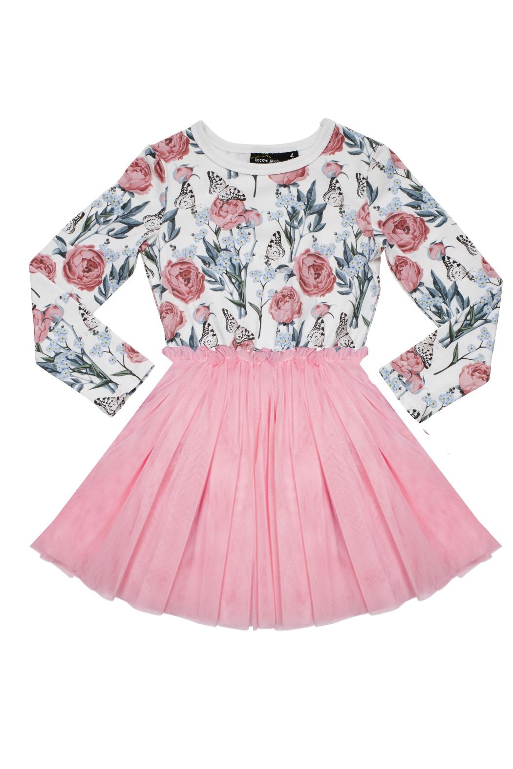 Rock Your Baby Flower Circus Dress - Main Image