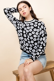 Thml Flower Crewneck Sweater - Product Mini Image