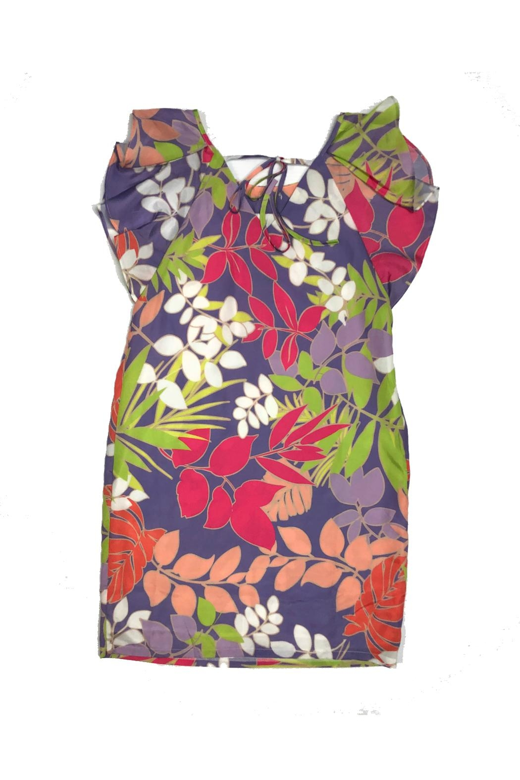 EsQualo Flower Dress - Front Full Image