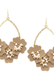 US Jewelry House Flower Drop Earrings - Product Mini Image