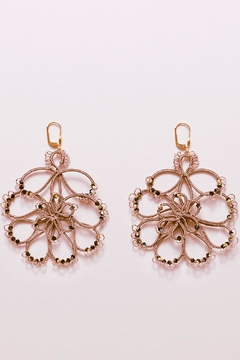 Shoptiques Product: Flower Earrings Swarovsky