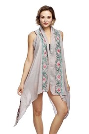 Nadya's Closet Flower Embroidery Vest - Product Mini Image