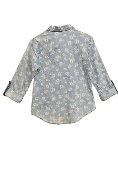 In Style Flower Faded Top - Alternate List Image