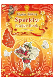 Penguin Books Flower Faries Sparkly Sticker Book - Front cropped