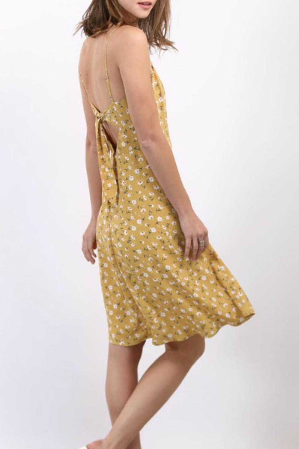 Imagine That Flower Field Dress - Side Cropped Image