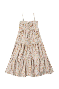 Shoptiques Product: Flower Field Tiered Maxi Dress