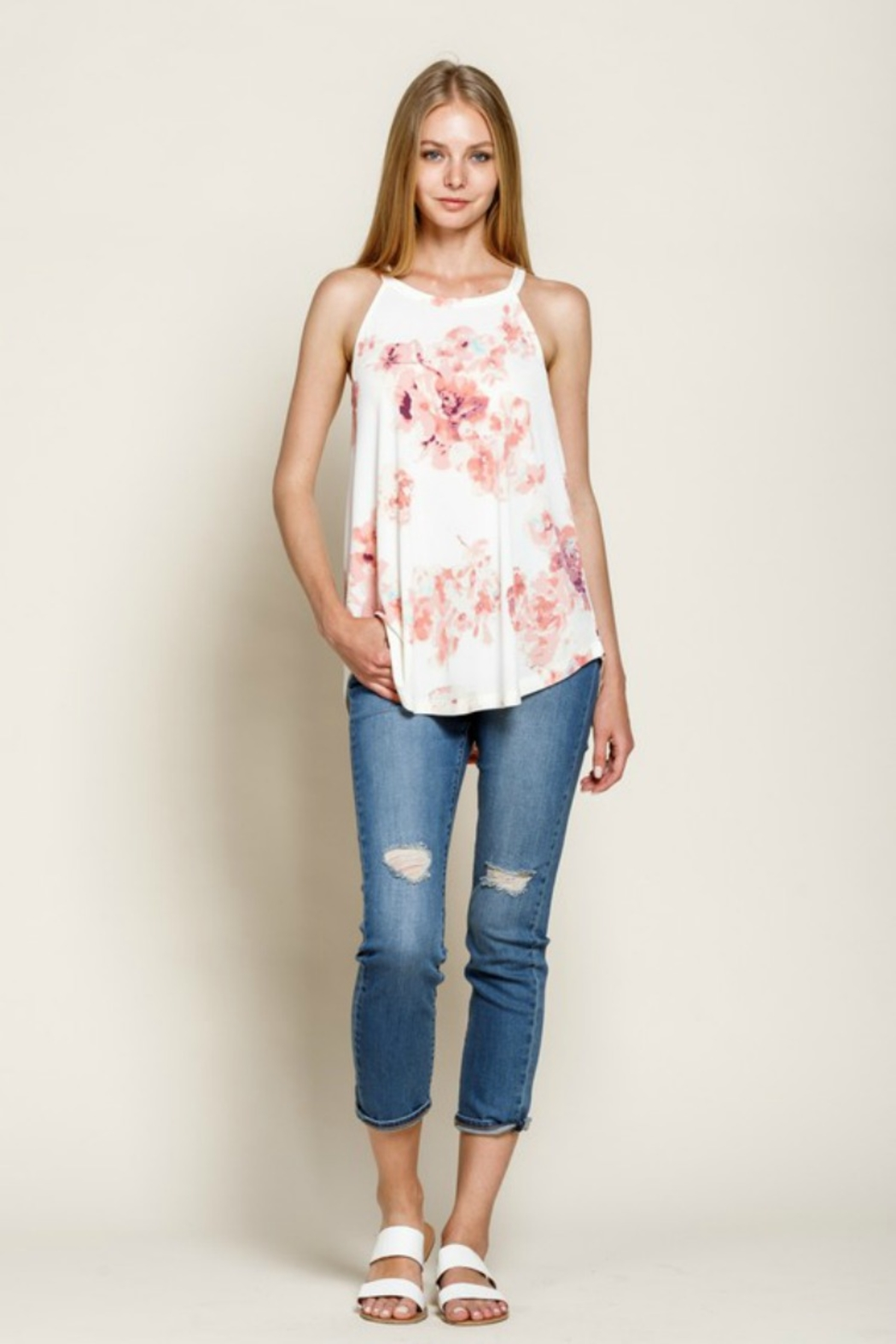 Mittoshop Flower Fields Tank - Front Full Image