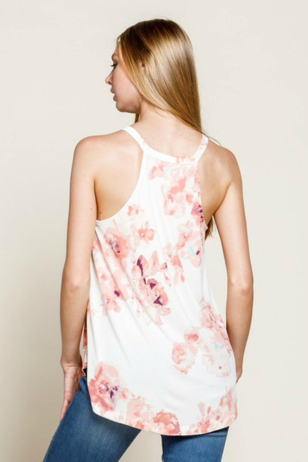 Mittoshop Flower Fields Tank - Side Cropped Image