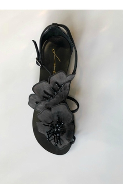Shoptiques Product: Flower Flat Sandals