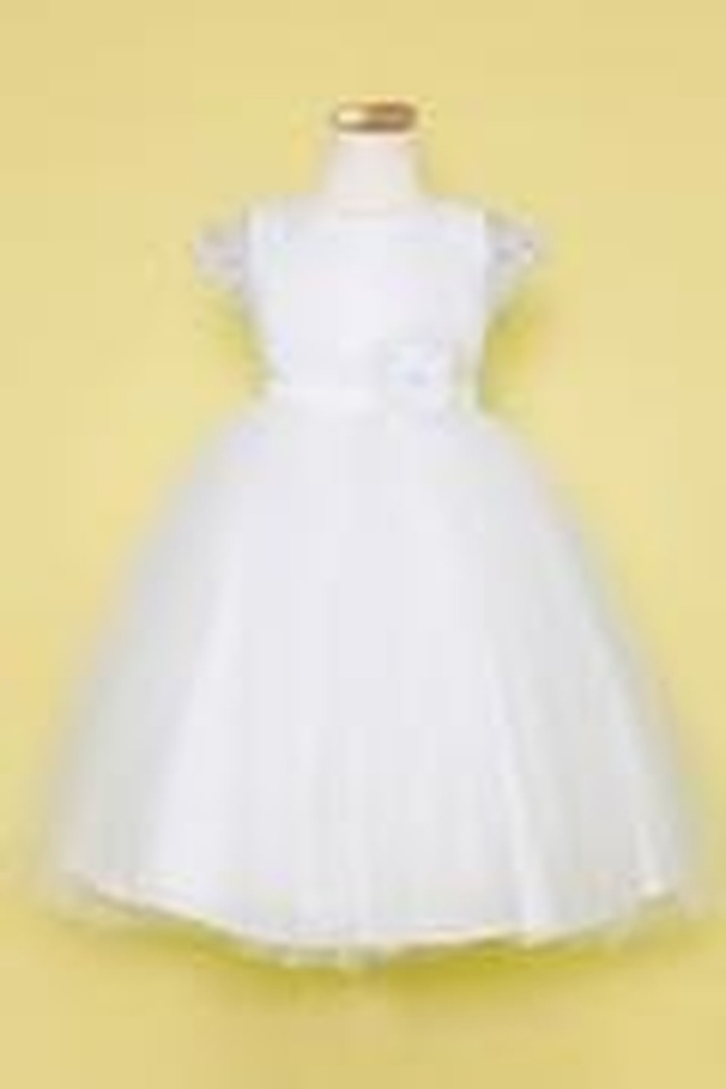 Calla Collection  Flower Girl Dress - Front Cropped Image