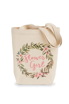 Mud Pie Flower Girl Tote - Alternate List Image