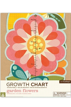 Petit Collage Flower Growth Chart - Alternate List Image