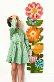 Petit Collage Flower Growth Chart - Product Mini Image
