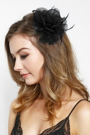 MHGS Flower Hair Clip - Front cropped